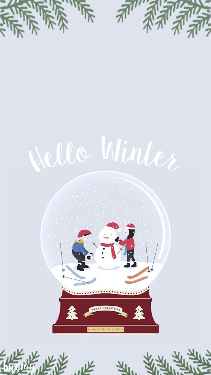 fond-ecran-hiver-iphone-5