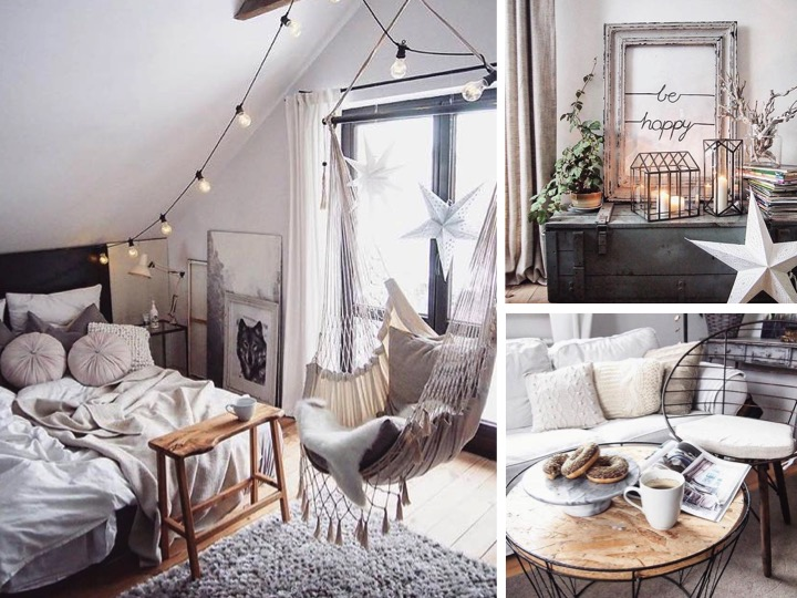 Deco chambre hygge for Decoration maison instagram