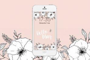 fond-ecran-iphone-rose