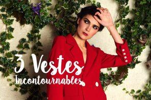 SOLDES : 3 Vestes Incontournables