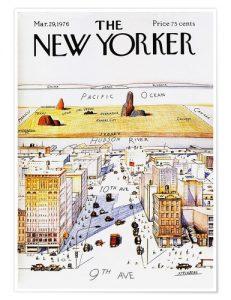 Poster The New Yorker de steinberg