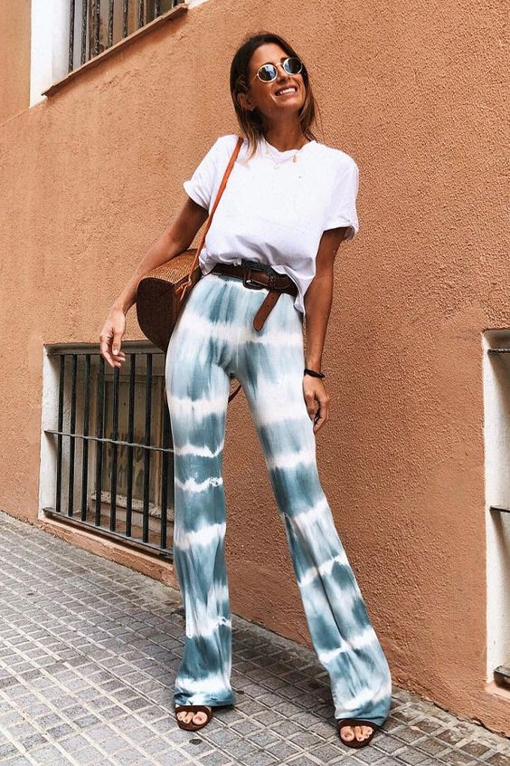 pantalon tie and dye tenue